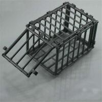 1/6 Scale Scene Plastic Black Animal Cage Model For 12'' Action Figure Diagram W