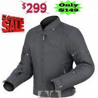 DRIRIDER SYMMETRY Motorcycle Jacket NEW rrp$299! Mens 3XL 4XL Waterproof ROAD