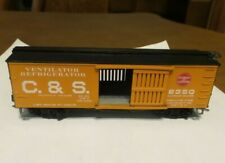 HO Scale Roundhouse C&S 36' Colorado & Southern Ventilated Box Car, NEW In Box.