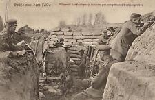 16992/ Foto AK, Scharfschützen im Schützengraben, 1916