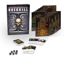Warhammer 40k Deathwatch Overkill Rules, Tiles, Cards, No Marines / Genestealers