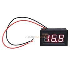 2 Wire LCD DC3.2-30V Red LED Digital Display Voltage Panel Meter Voltmeter New