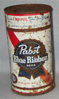 Pabst Beer Flat Top Beer Can- Pabst Brewing- Milwaukee, Wis- With Red Stripe