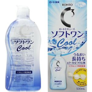 Japan Rohto C3 C Cube COOL / Moist / Hydro One Soft Contact Lens Solution SAL