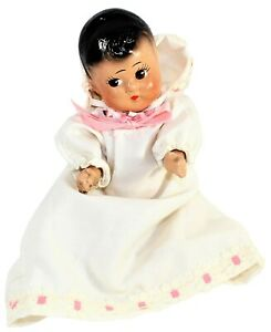 """All Composition Doll 7"""" Strung & Unmarked Jointed Dionne Quintuplet Clone"""