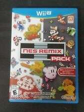 Replacement Case (NO GAME) NES REMIX PACK NINTENDO WII U