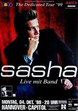 SASHA - 1999 - Konzertplakat - Dedicated - Tourposter - Concert