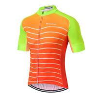 Men's Cycling Jersey Clothing Bicycle Sportswear Short Sleeve Bike Shirt Top X86