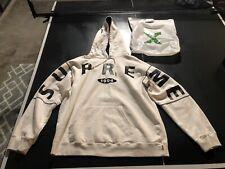 Authentic Supreme Sweatshirt Hoodie White - XL