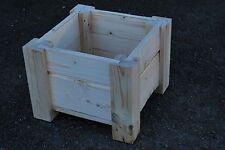 Petits cadres en bois pot 29.5x29.5x22 cm bois massif épicéa pour DECOUPIS
