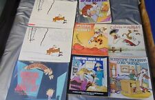 CALVIN AND HOBBES BOOK LOT 8 BOOKS