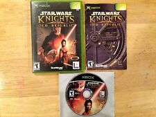Star Wars: Knights of the Old Republic Black Label Xbox System Complete Game