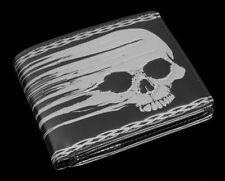 Portefeuille pour hommes avec tête de mort - FLOUE - Gothique porte-monnaie