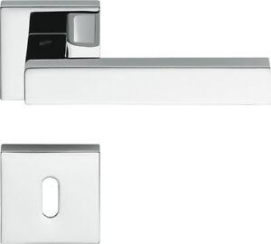 Maniglie (coppia) per porte interne Colombo Design Ellesse cromo lucido