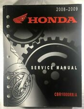 NOS OEM 2008-2009 HONDA CBR1000RR/A FACTORY MOTORCYCLE SERVICE MANUAL