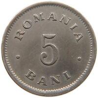 ROMANIA 5 BANI 1900 TOP #s34 675