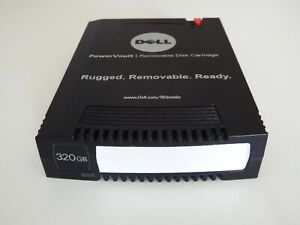 Dell 320GB RDX Powervault QuikStor RD1000 Removable Storage Disk Data Cartridge