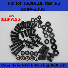Mounting Kits Washers//Nuts//Fastenings//Clips//Grommets Xitomer Full Sets Fairing Bolts Kits for YAMAHA YZF-R3 YZF-R25 2015 2016 2017 2018 2019 Matte Black