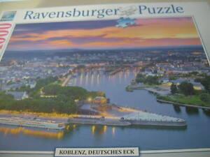 Ravensburger Puzzle 1000 Teile Koblenz Deutsches Eck Art. 197828