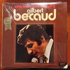 Gilbert Becaud-little Love And Understanding-shrink Lp