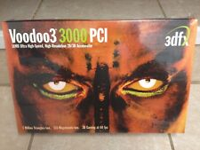 3dfx Voodoo3 3000 16MB 2D/3D PCI Accelerator - Vintage - New in Wrap!