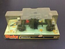 1975# DINKY MECCANO  656 88 MM GUN  RARE#NEW OLD STOCK NIB [AH-2]