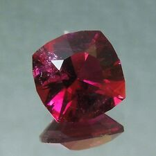 Precision USA cut rubellite red tourmaline 2.48 carats