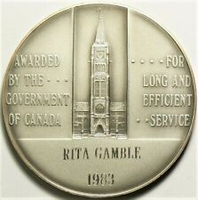 1983 Canada Long Service Award Medal with Case #11747