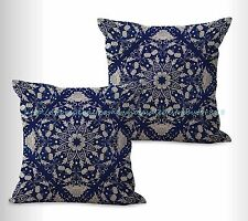 US SELLER, 2pcs outdoor pillow covers Chinese porcelain cushion cover