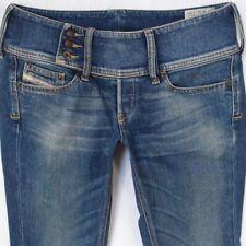 55ec9bce Ladies Womens Diesel CHEROCK 008RT Stretch Bootcut Blue Jeans W29 L30 UK  Size 10