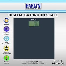 Harlyn BSD2400 Digital Body Weight Bathroom Scale - 330 lbs