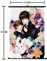 Anime Junjou Romantica Sekai ichi Hatsukoi Wall Poster Scroll Home Decor 267