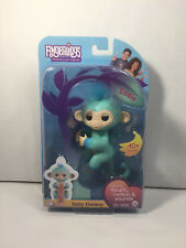 NEW! Fingerlings Baby Monkey EDDIE Interactive Collectible Toy WowWee FASTSHIP