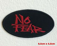 No Fear logo badge Iron Sew on Embroidered Patch applique #1558