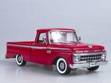 Scale model 1:18  Ford F-100 Custom Cab Pickup (Rangoon Red) 1965