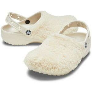 Crocs Unisex Classic Fuzz Mania Clogs / Sandal / Shoes  - 206625