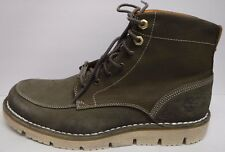 Timberland Size 10.5 Westmore Leather Boots Olive New Mens Shoes