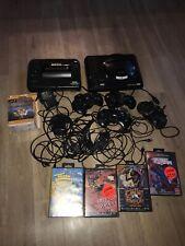 Sega Mega Drive + Master System + 4 Controller + Kabel + 4 Spiele + Sonic Figur