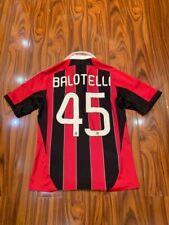Milan home football shirt 2012-2013 Balotelli №45 size M jersey soccer