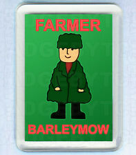 BOD's FARMER BARLEYMOW SMALL FRIDGE MAGNET - RETRO COOL!