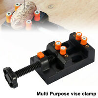 Jaw Bench Clamp Drill Press Vice Opening Parallel Table Vise DIY Craft Tool