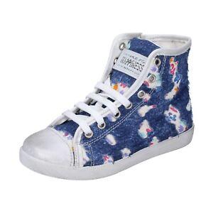 Mädchen schuhe HAPPINESS 30 EU sneakers blau textil BH132-30
