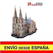 Puzzle 3D LA CATEDRAL DE COLONIA CubicFun Educativo Rompecabeza 179 Piezas a0077