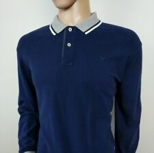 Hackett London Mens Polo Shirt Slim Fit Stretch Navy Twin Tipped Top XXXL RRP£95