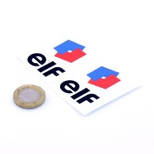 Elf Oil Car STICKERS 50mm x2 Sports Racing Decals Vinyl Sticker F1 Ligier