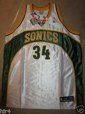 Ray Allen #34 Seattle Supersonics NBA Team Reebok Trikot 52 Neu