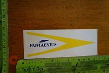 Alter Aufkleber Schiff Fähre Boot PANTAENIUS