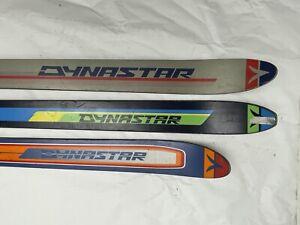 Vintage 3 Dynastar SINGLE SKIS 170cm Omni Pulsar 160cm Tempest NO BINDINGS Decor