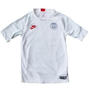 Nike Jungen Trainingsshirt Dri-Fit Breathe PSG Strike Kid Weiß Training Kinder