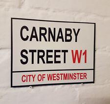 Londres calle signo-Carnaby Street-Metal Aluminio Signo
